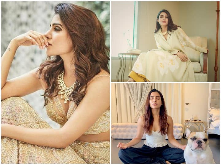 Samantha Ruth Prabhu Is Spending Time With Her Two Kids